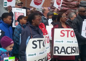 Protesters to Sobeys: Stop causing stress to falsely accused victim of racial profiling