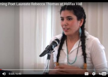 Weekend Video: Two great poems by Rebecca Thomas