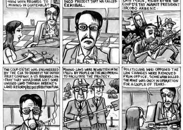The panel is political. Ad Astra Comix visits Halifax