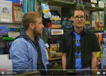 Weekend Video: Jay Aaron Roy of Cape and Cowl Comics in Trans Canada mini-doc