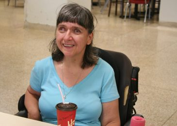 """All I am trying to do is live my life."" Disabled woman fights bureaucrats and politicians"