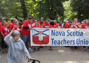 What a difference a year makes. Teachers and government workers say no to bullies