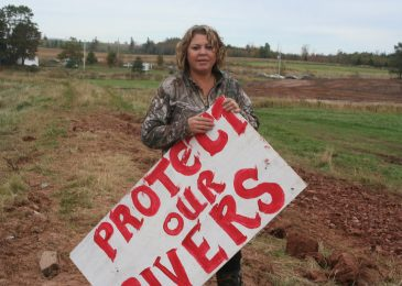 This is our warning. Mi'kmaw opponents of Alton Gas appeal to federal Fisheries minister