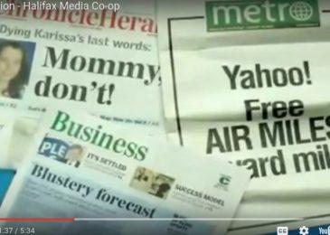 Weekend video: the Halifax Media Co-op