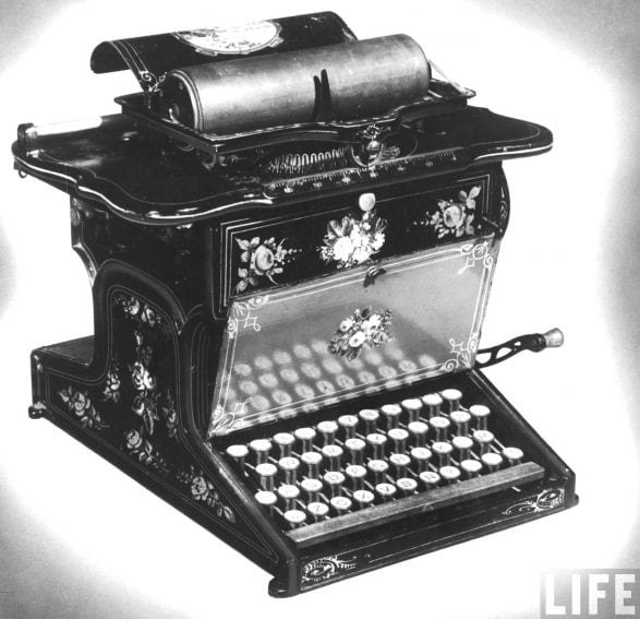 remington_no-_1_typewriter_life_photo_archive