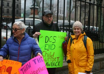 No balanced budgets for people on welfare, Province House protesters say