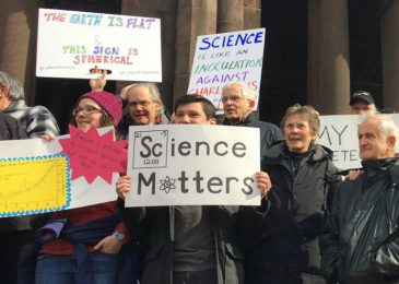 Halifax Science March: saying no to the attack on science