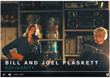 Weekend video: Solidarity, by Bill and Joel Plaskett
