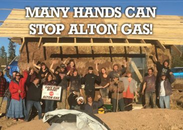 Weekend video: Many hands can stop Alton Gas