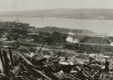 Judy Haiven: The Halifax explosion – When is a war crime merely an accident?