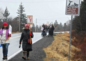 The need for rural women's marches