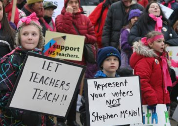 Media release: Nova Scotia Social Workers stand with our teachers