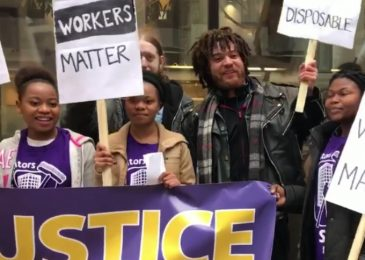 News release: Justice for Janitors – Black Workers Matter!