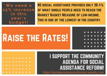 "News release: Anti-poverty group calls increases to Income Assistance a ""Drop in the Bucket"""
