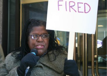 We will no longer tolerate this! Broad coalition fights firing of Founders Square cleaners