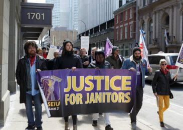 News brief: Justice for Janitors returns to Founders Square