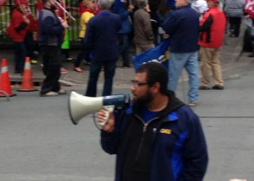 "NSGEU president Jason MacLean:  ""You know why I was stopped. I was driving while Black"""