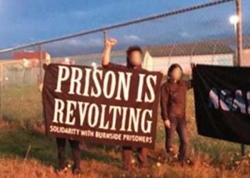 Newsbrief: Police violence and arrest unwarranted, say protesters outside Burnside jail