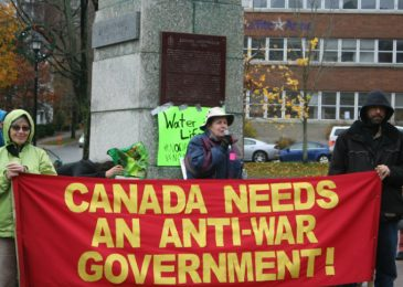 All out to oppose annual US-led war conference in Halifax!