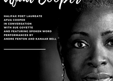 PSA: Halifax Poet Laureate Afua Cooper in conversation with Sue Goyette, Thursday January 24