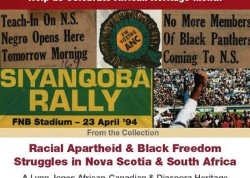 PSA: Racial apartheid and Black freedom struggles in Nova Scotia and South Africa