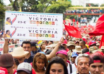 News release: Global day of actions demanding U.S. hands off Venezuela!