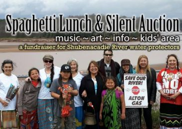 Media release: Spaghetti lunch and silent auction for Sipekne'katik River Water Protectors