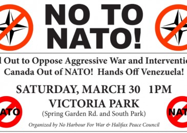 PSA: Saturday March 30, No to NATO!
