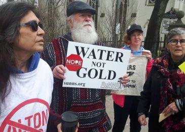 Environmentalists rally while senators conduct Bill C-69 hearings in Halifax