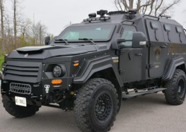 Halifax Police want their armoured truck, and they're damn well going to buy it