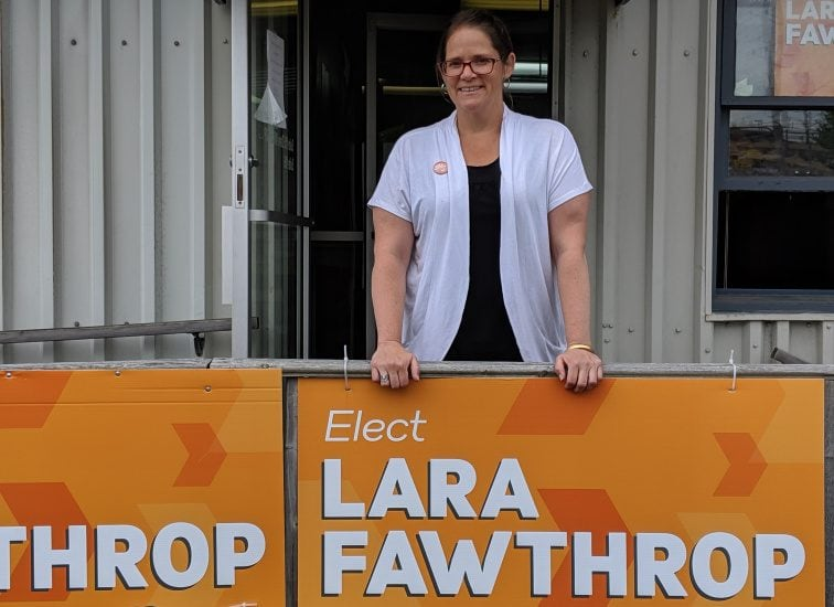 I talked with Laras Fawthrop, the NDP candidate in the Sackville-Cobequid by-election on Tuesday. I hope she wins.