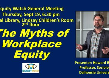 PSA: Equity Watch speaker Howard Ramos – The myths of workplace equity