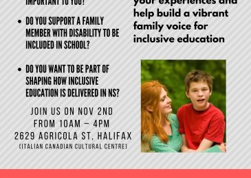 PSA: Inclusive Education Nova Scotia Forum
