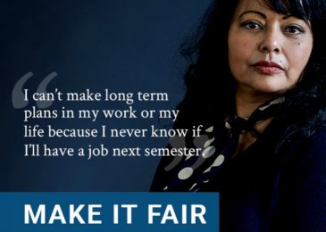 Dr. Julia Wright: Make it fair for contract academic staff