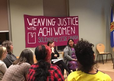 Press release: Lawyer to speak in Halifax about struggle for justice by Maya-Achi women