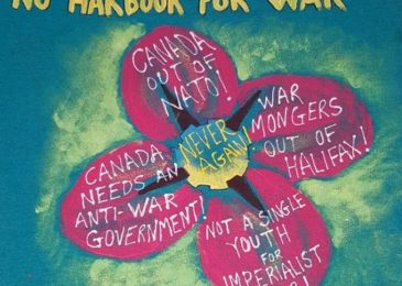 Message from No Harbour for War to the Canadian people