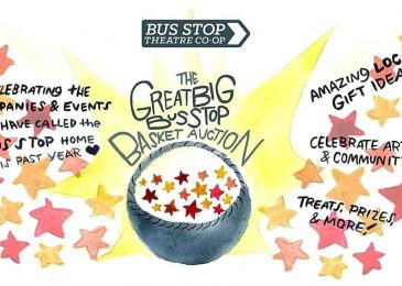 Press release: The 3rd Annual Great Big Bus Stop Basket Auction