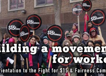 PSA: Fight for $15 Orientation with special guest Christine Saulnier: Building a movement for workers