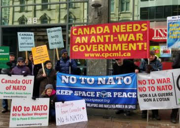 Tamara Lorincz: NATO is a threat to the climate