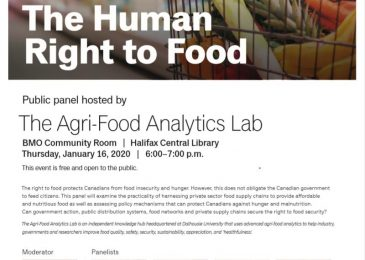 PSA: The human right to food: a panel discussion