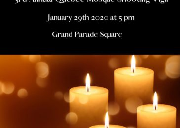 PSA: 3rd annual Quebec mosque shooting vigil