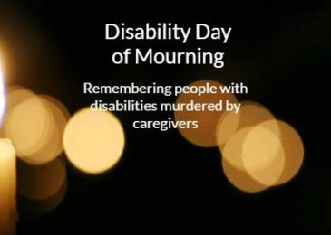 PSA: Local disability community commemorates lives of disabled filicide victims