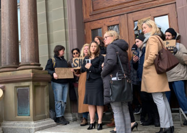 News release: Deputy PM Chrystia Freeland blocked from entering Halifax City Hall in Wet'suwe'ten solidarity action