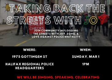 PSA: Love against police brutality – Taking back the streets with joy