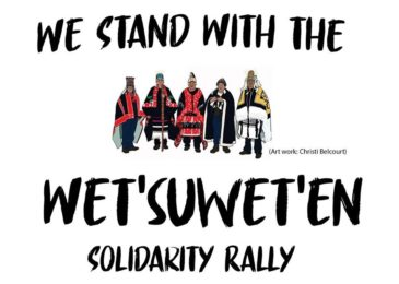 PSA: ALL OUT for the Wet'suwet'en and Indigenous sovereignty: Rally and march