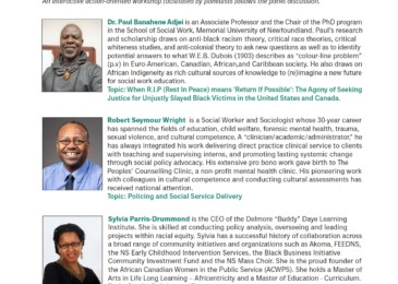 PSA: Panel discussion and workshop on Policing Black Lives. Is this too much noise about nothing?