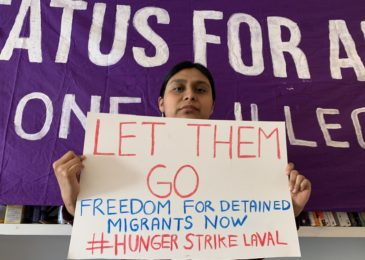 Press release: Coast to coast support for migrant detainees on hunger strike in Quebec due to risks of COVID-19 #HungerStrikeLaval