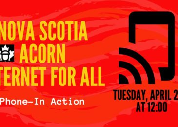 PSA: Coast-to-coast phone-in action. Low-income Canadians demand affordable, fast and reliable internet amidst COVID-19
