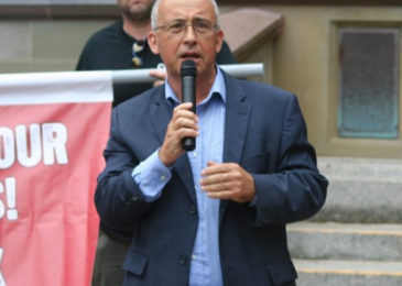 """Gary Burrill: """"The overarching question is what's going to happen next in Nova Scotia"""""""