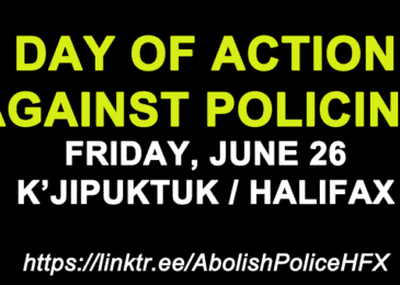 PSA: Day of action against policing, Friday June 26